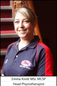 Emma Knot - Head Physiotherapist