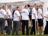 Physio Team At Manchester NTS